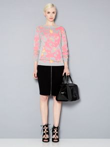 Instarsia knit jumper