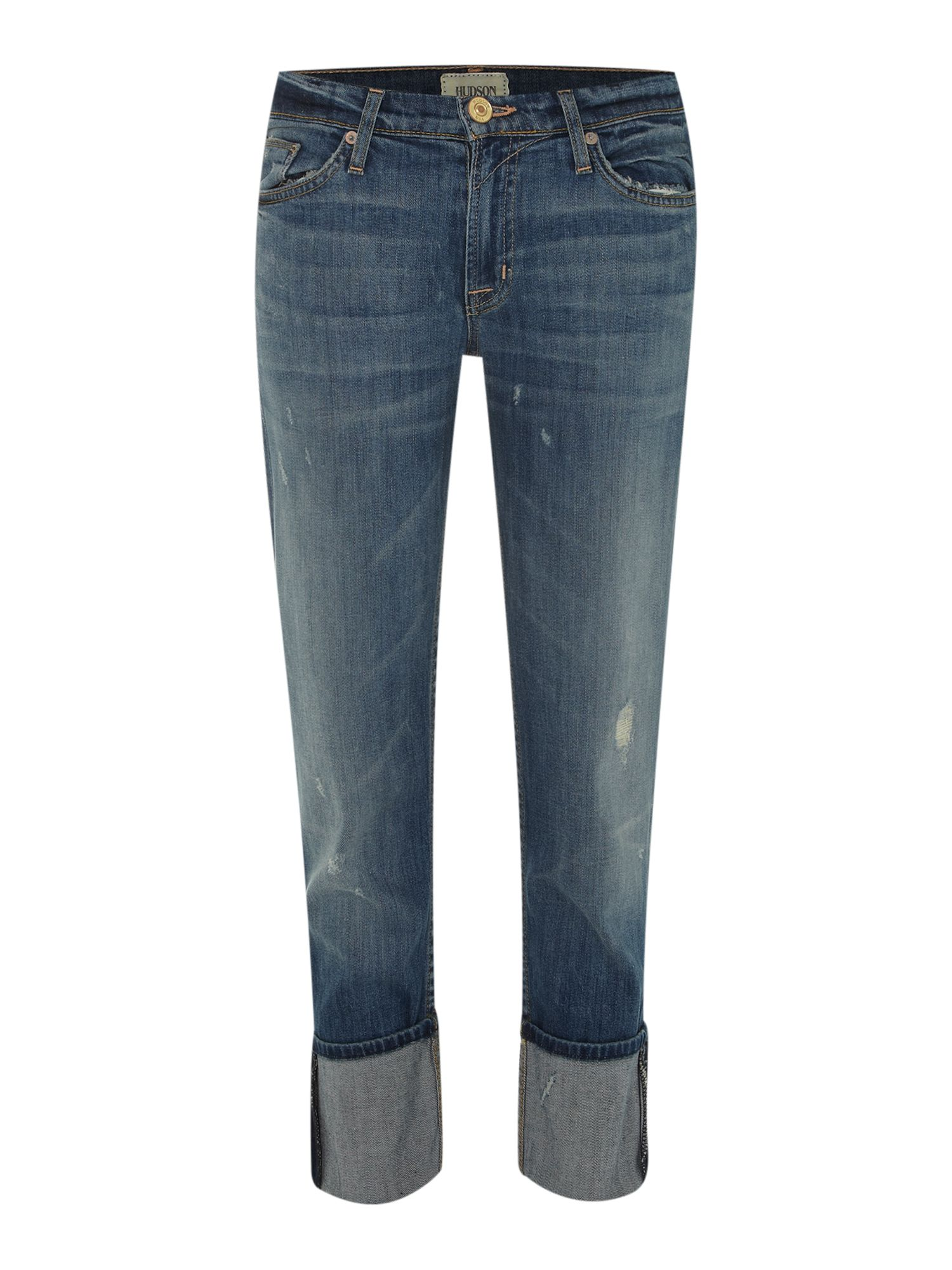 Muse cropped boyfriend jeans in Indie
