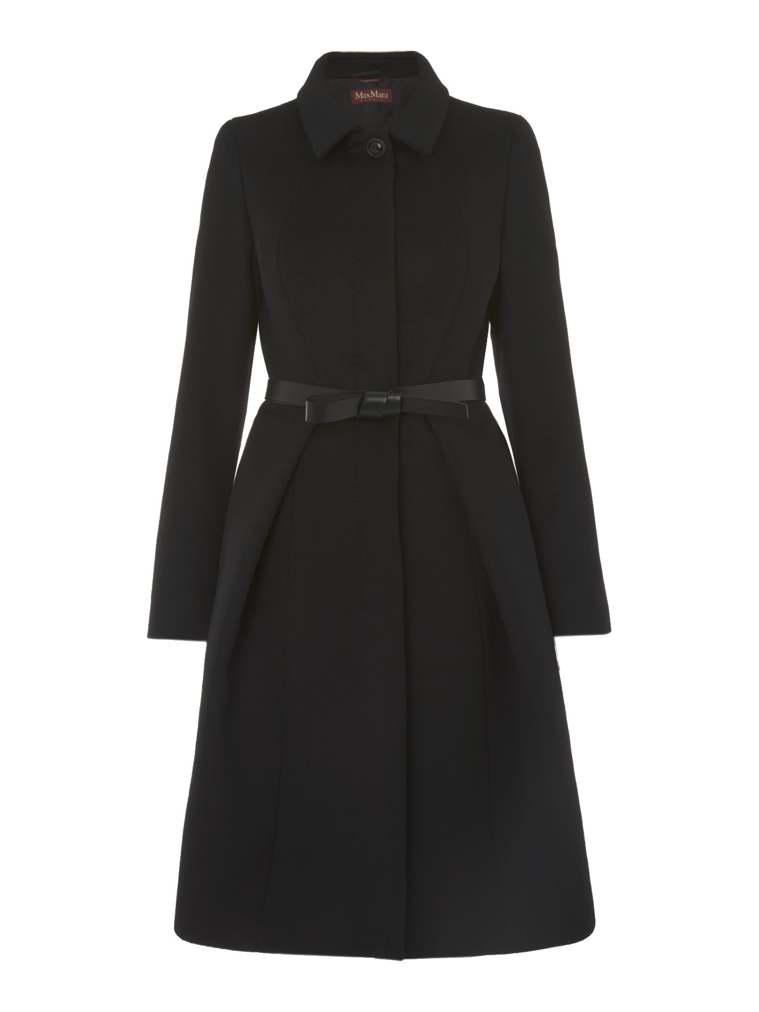 Valdez dress coat with belt