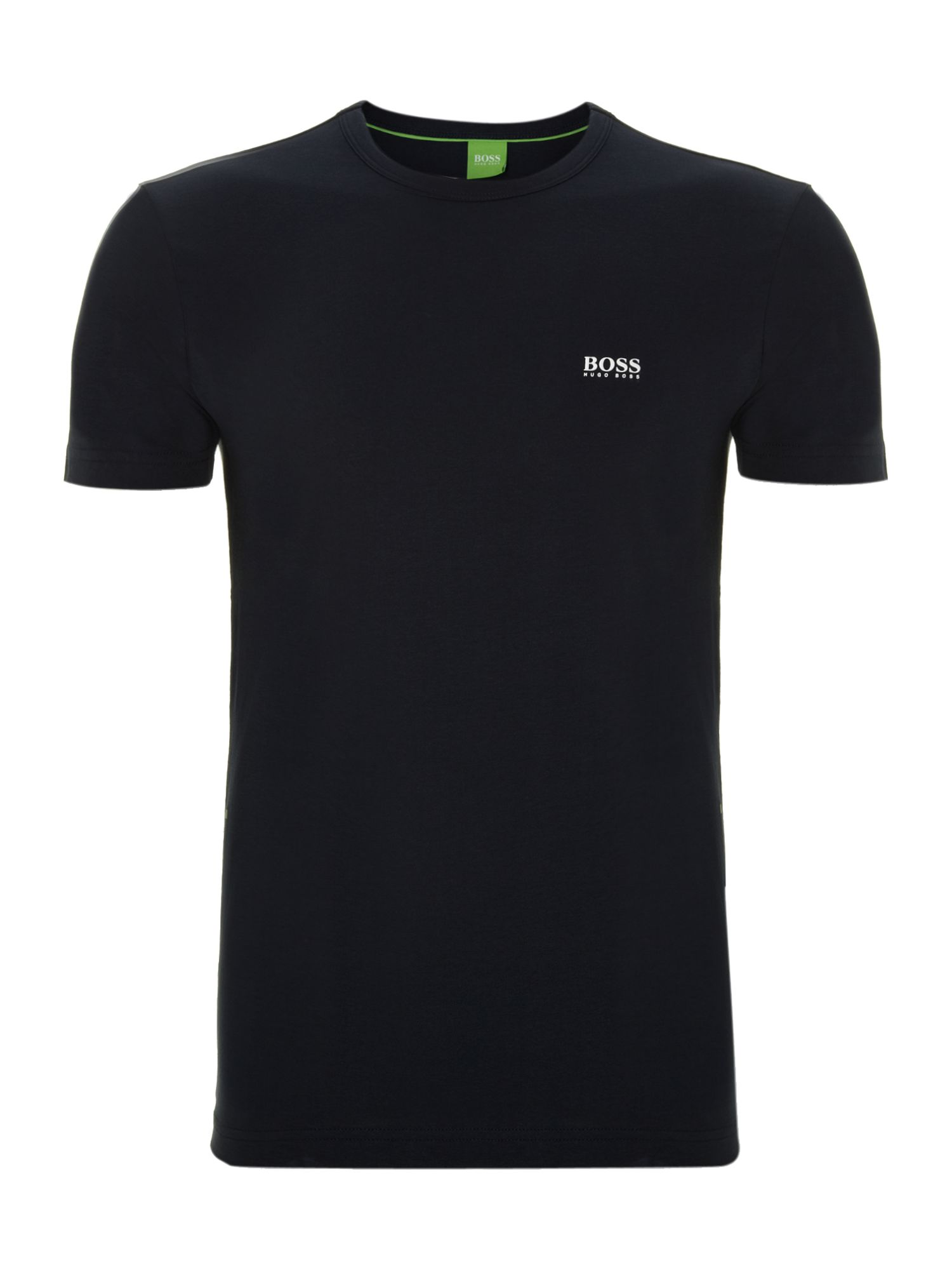 Men's Hugo Boss Regular Fit Crew Neck Logo T-Shirt, Blue