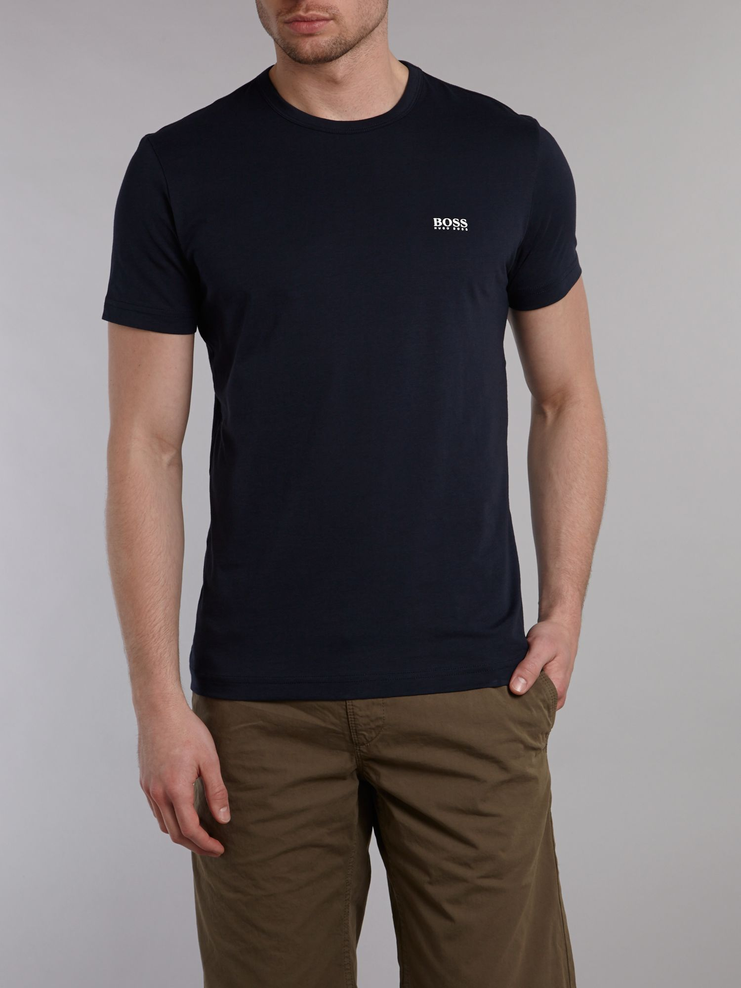 Crew neck logo T-shirt