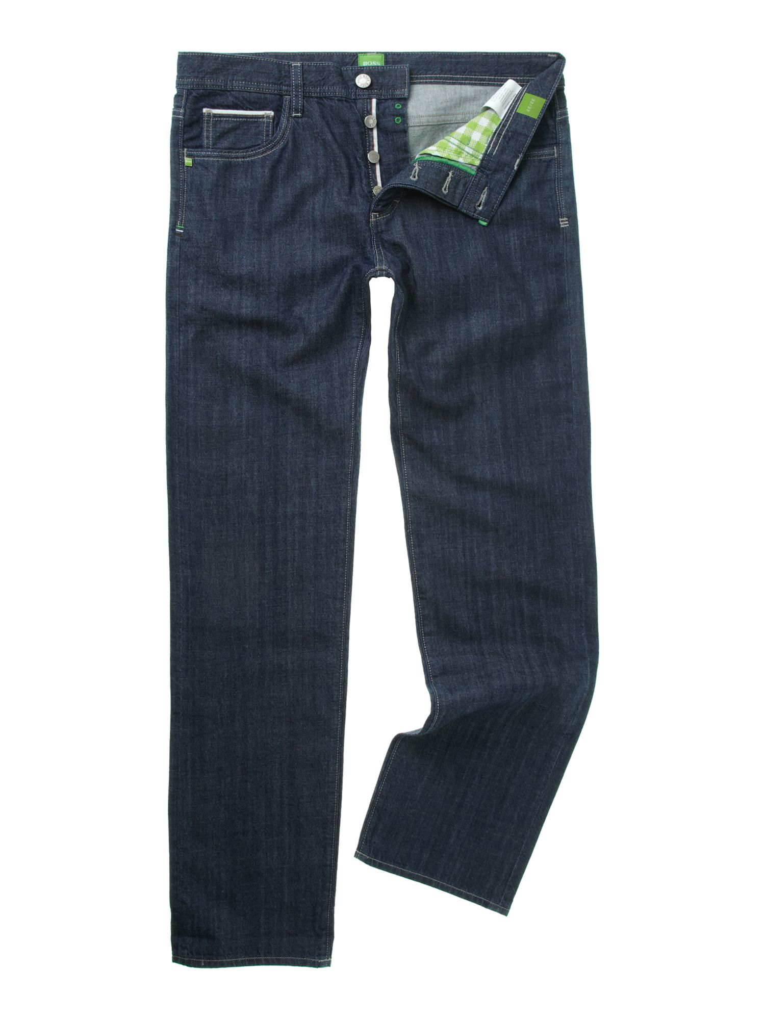 Danox tapered mid wash jeans