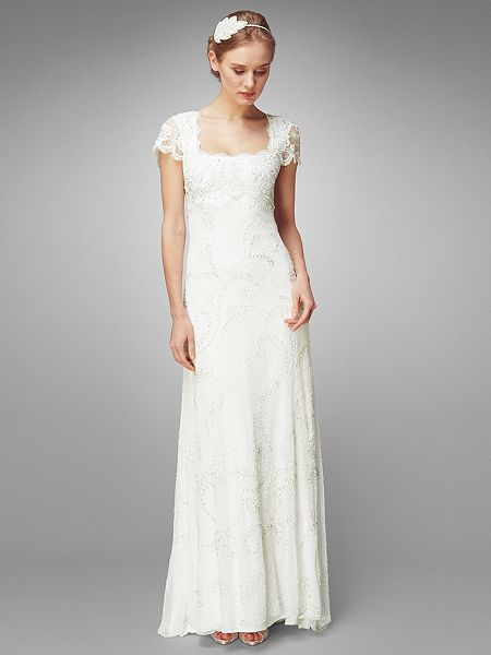Phase eight eliza wedding dress cream house of fraser for Phase eight wedding dresses
