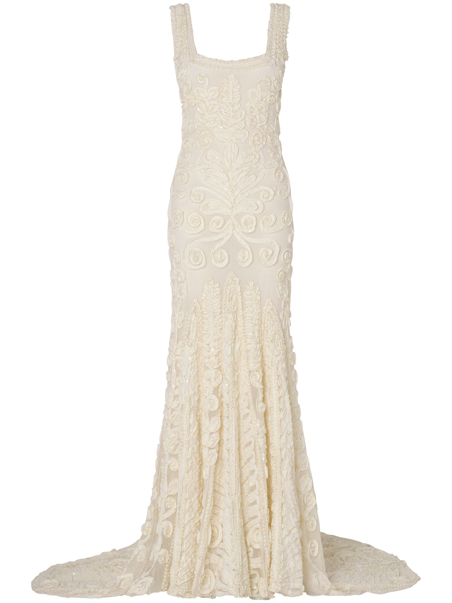 Phase Eight Pandora wedding dress, Cream