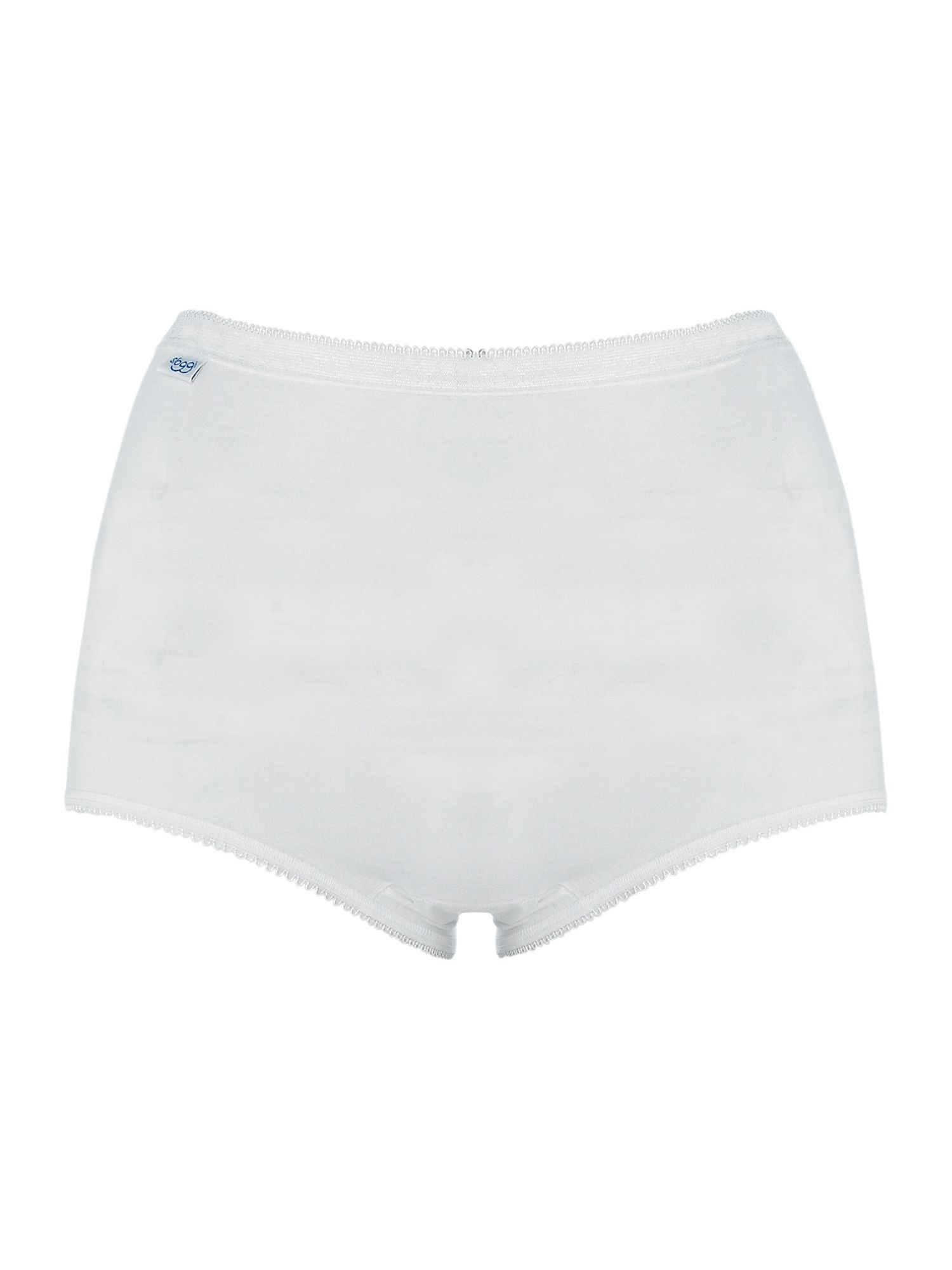Sloggi 3 pack maxi briefs White