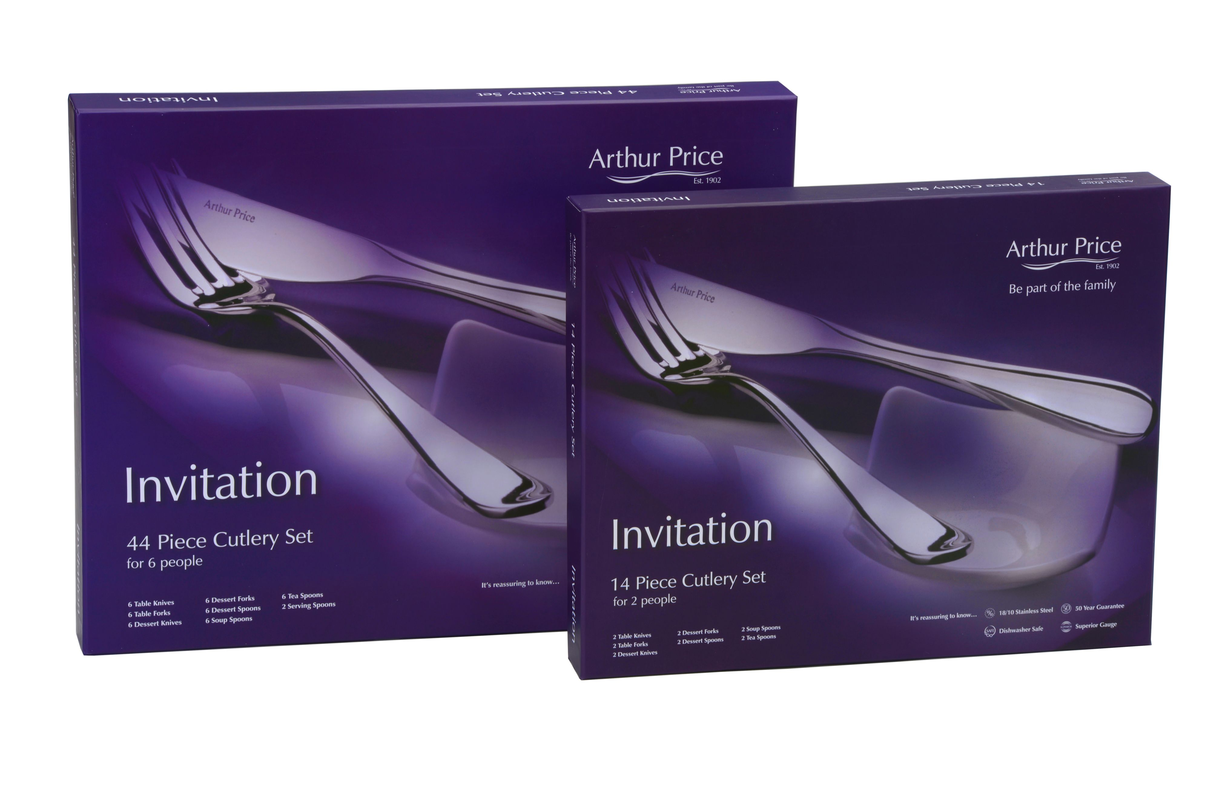 Invitation 14 piece cutlery set