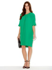 Tuck front no brainer dress