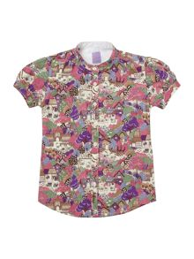 Girl`s Hello Kitty printed blouse