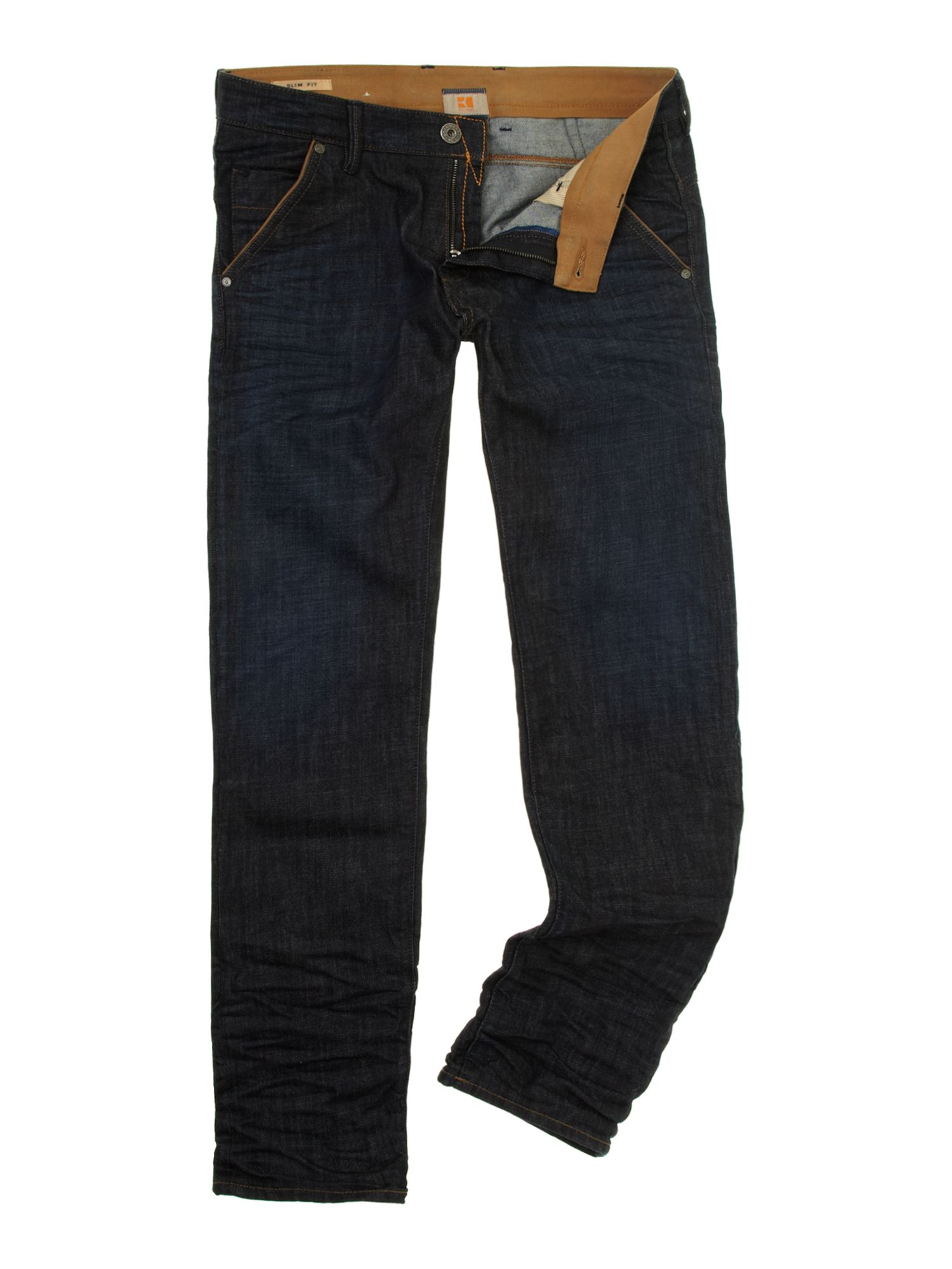 Orange 60 regular tapered fit jeans
