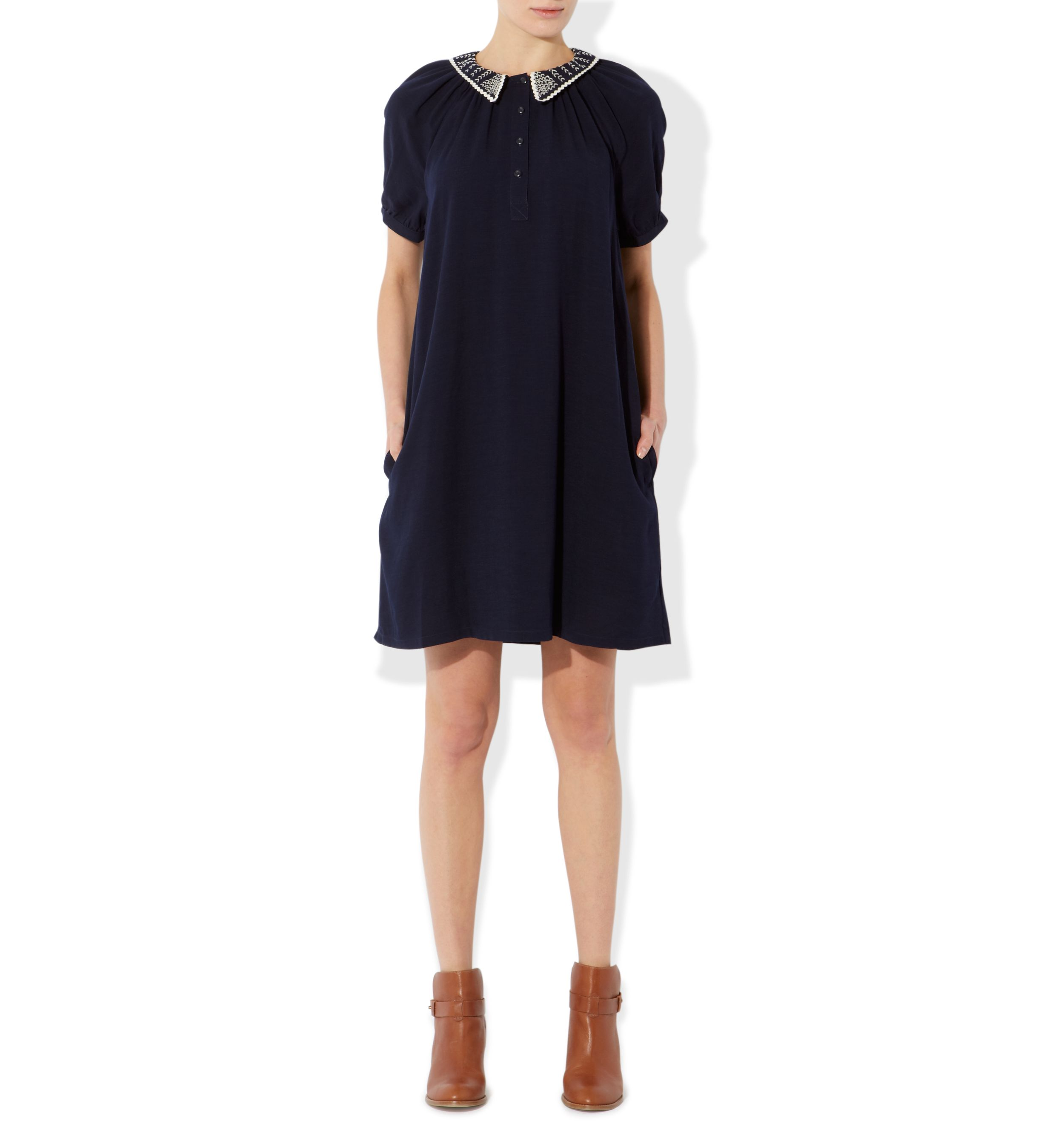 Ricrac smock dress