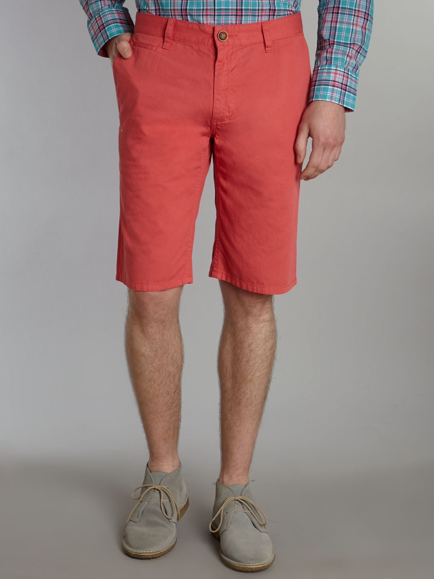 Tonal striped shorts