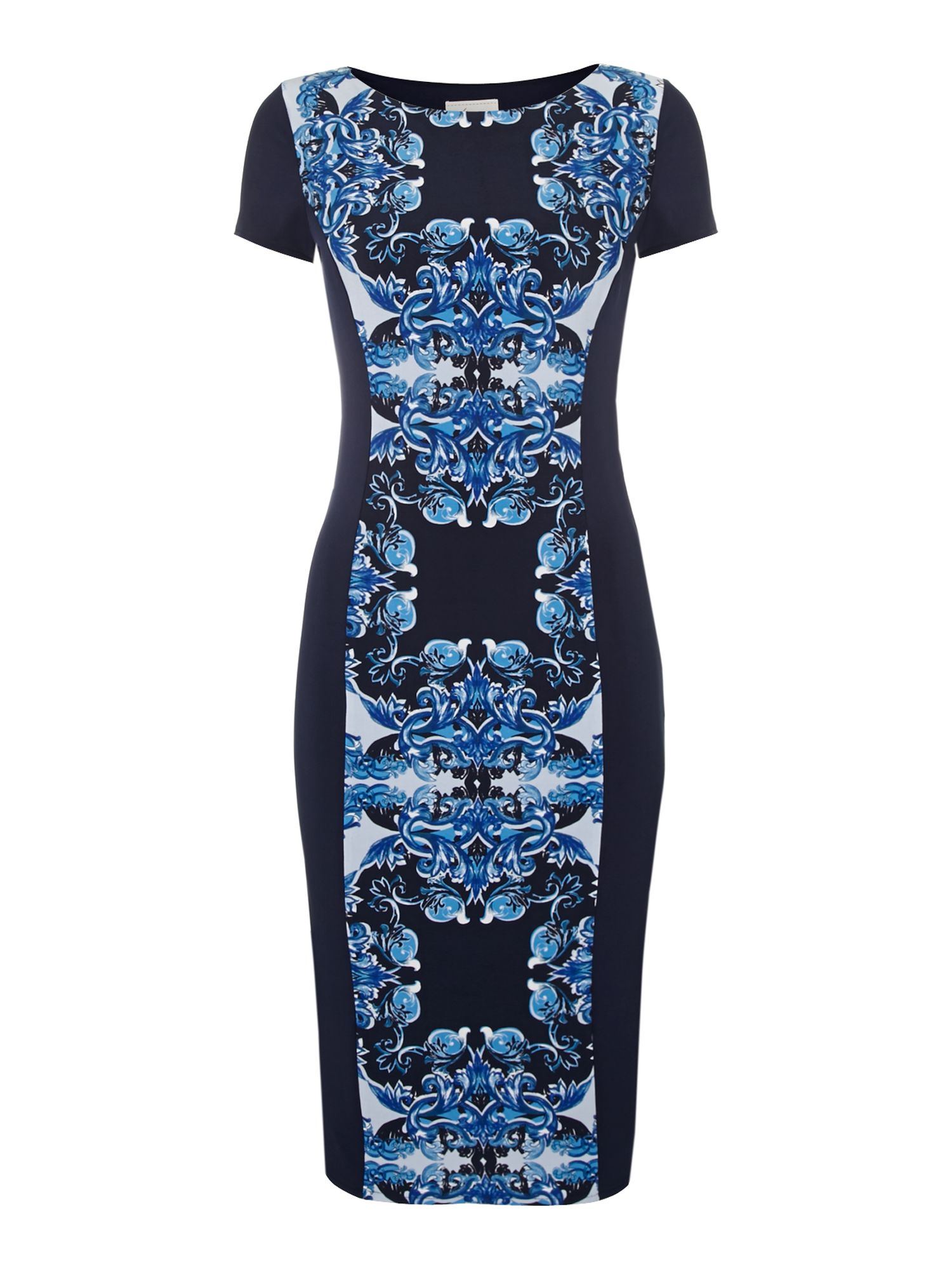 Ornate bodycon dress