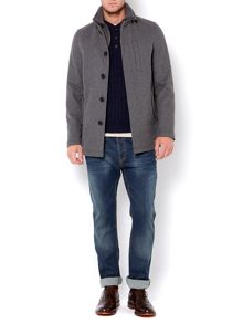 Sackett funnel utility wool coat