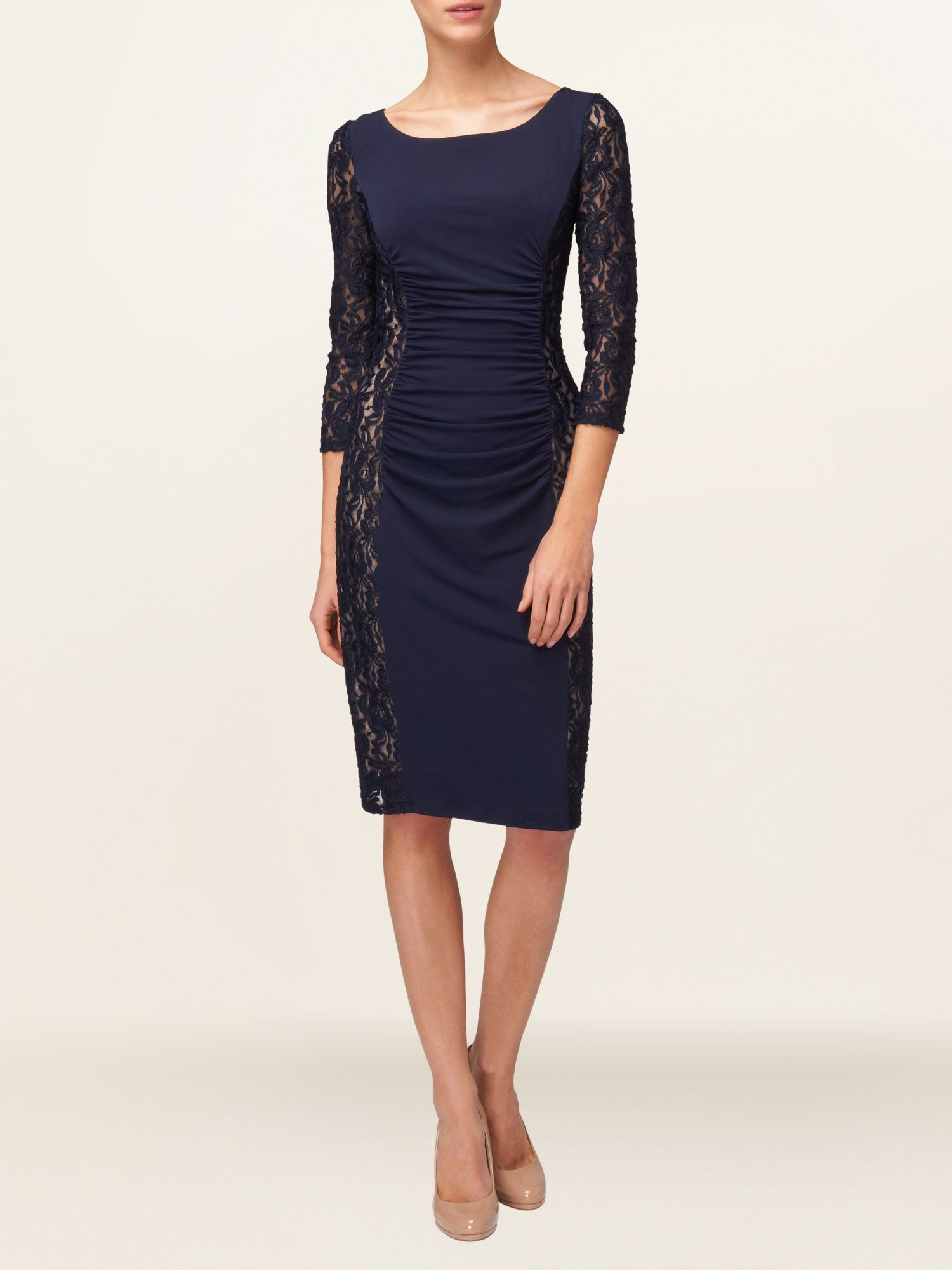 Latoya lace miracle dress