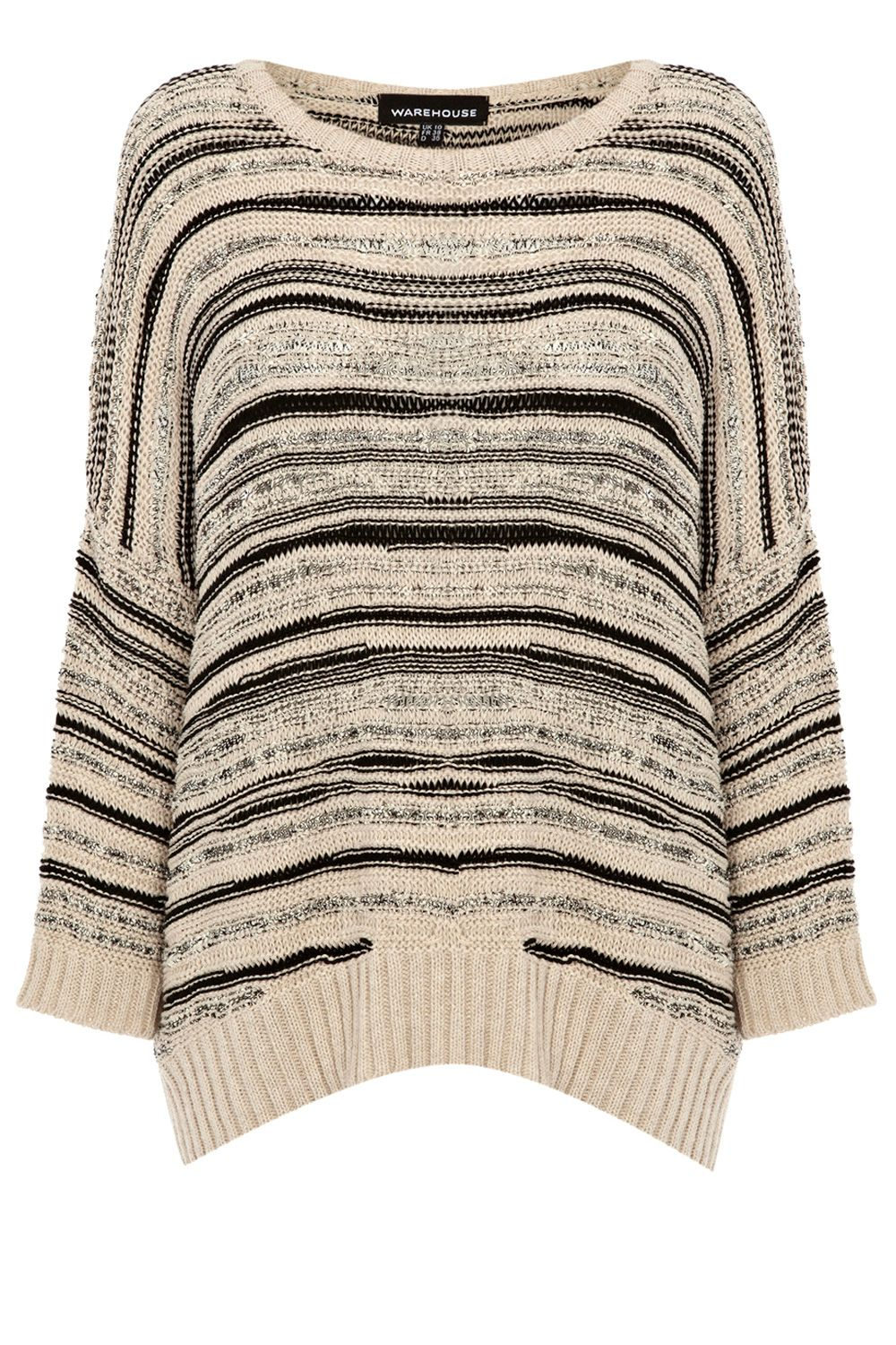 Pretty stitch stripe jumper