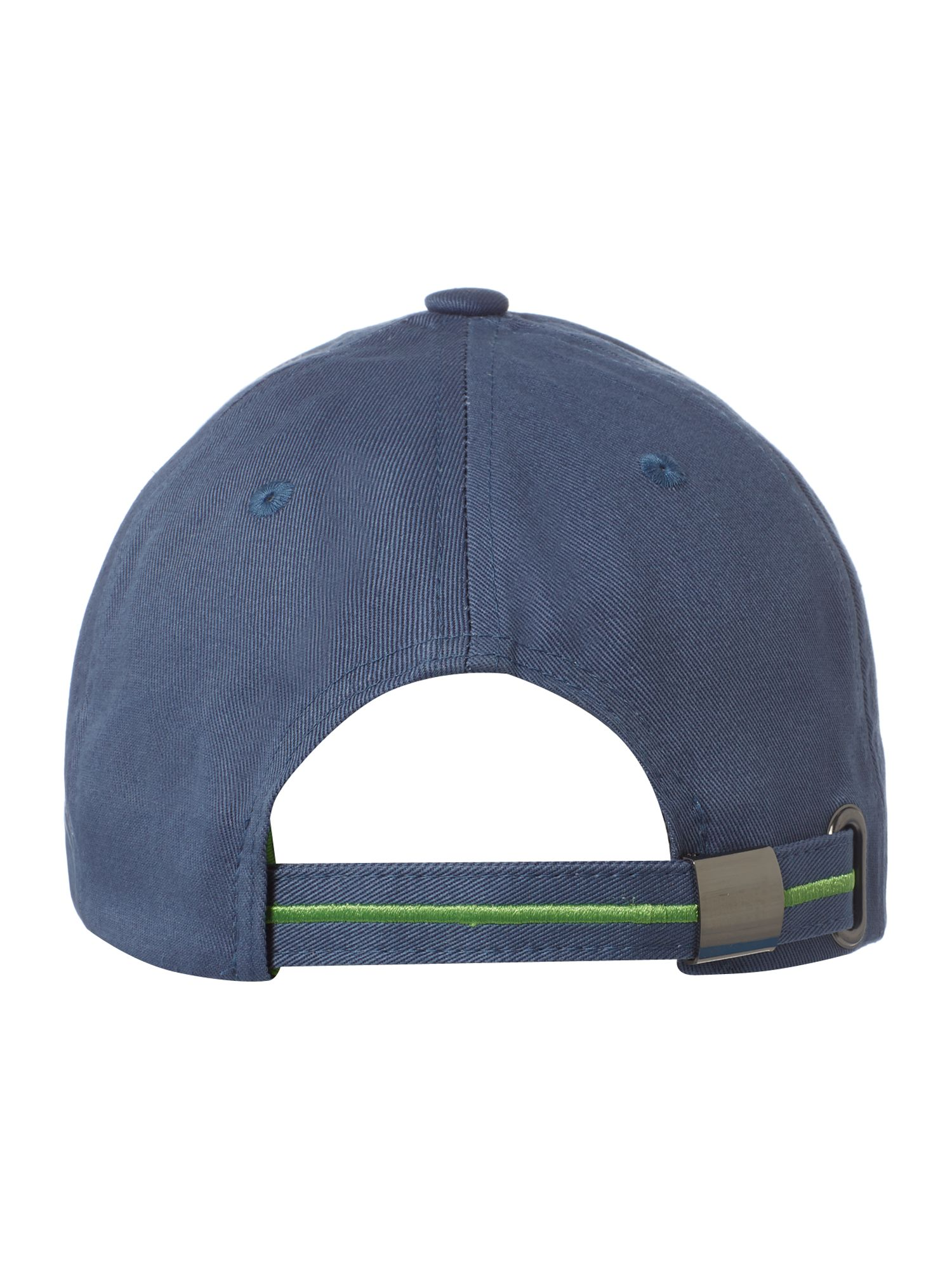 Baseball cap with logo detail