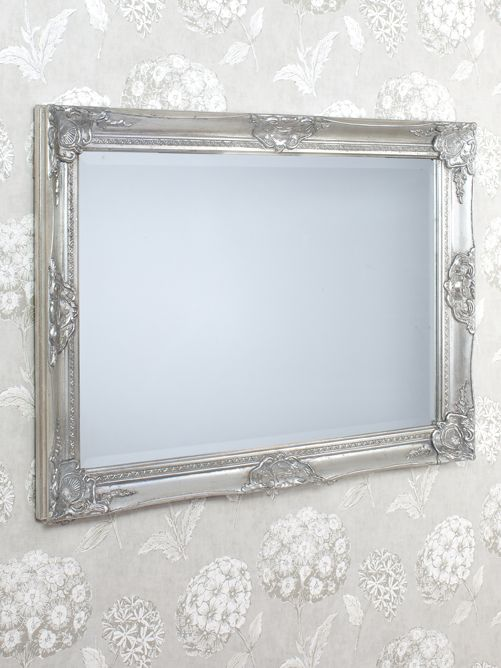 Kingsury mirror in silver 107 X 76 cm