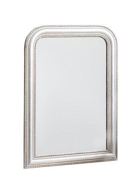 linea french wall mirror small 81 x 56 house of fraser. Black Bedroom Furniture Sets. Home Design Ideas
