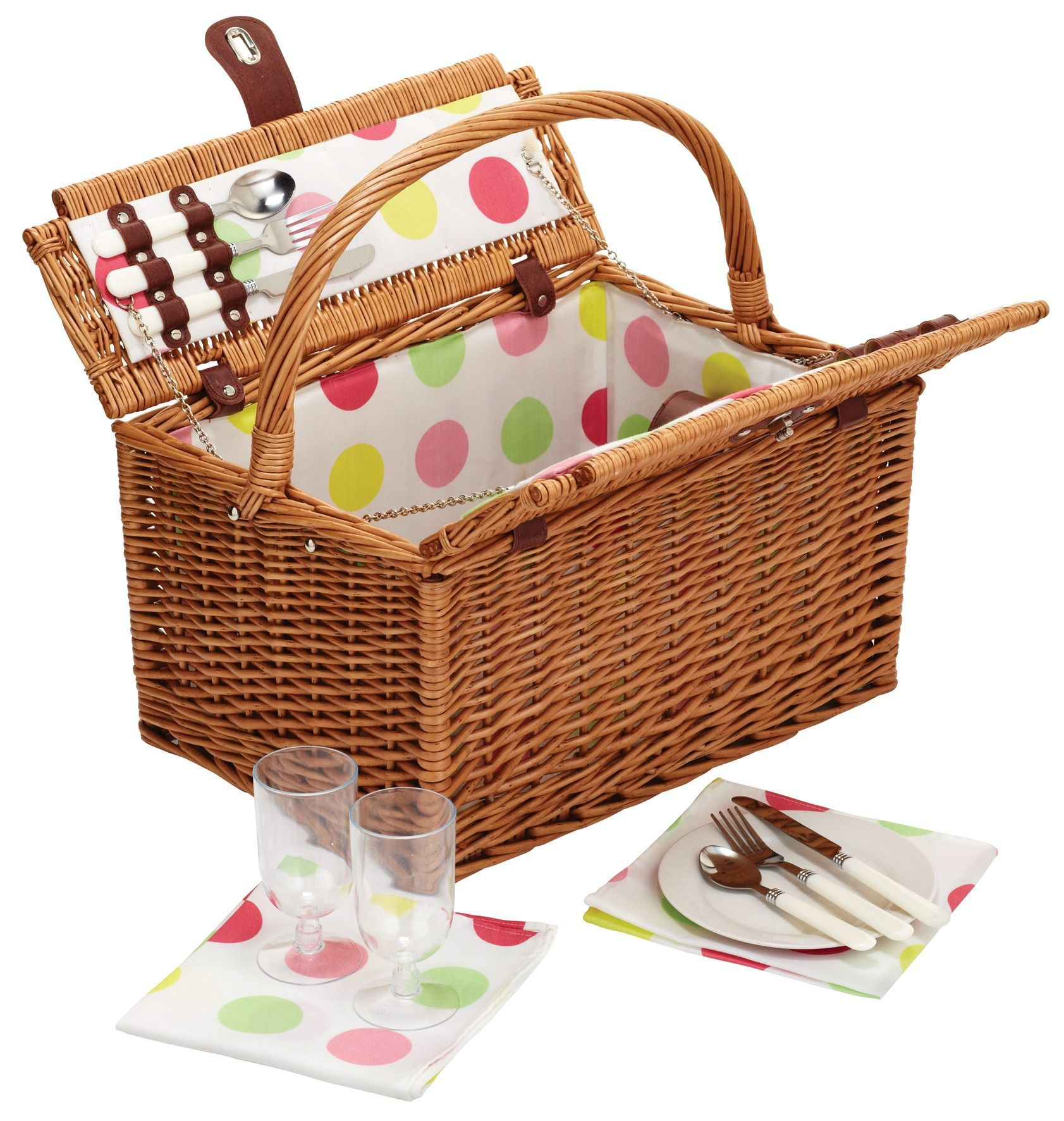 Sherbet 2 person picnic hamper