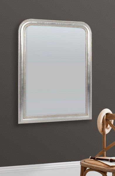 Linea French wall mirror large 107 X 76