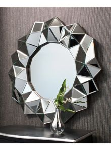 Aura wall mirror