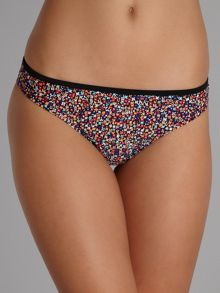 Floral flurry ditsy print brief