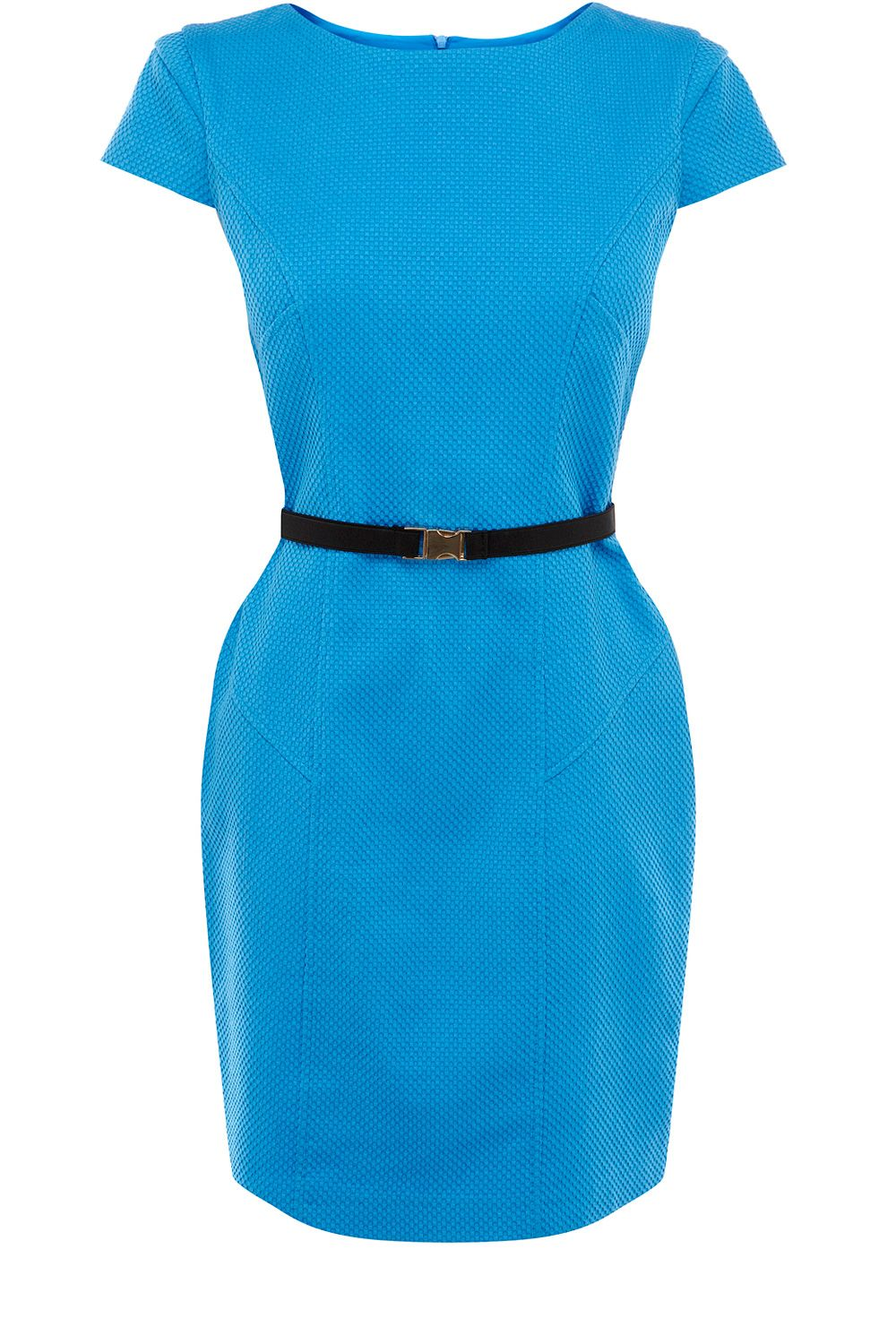 Textured body con dress