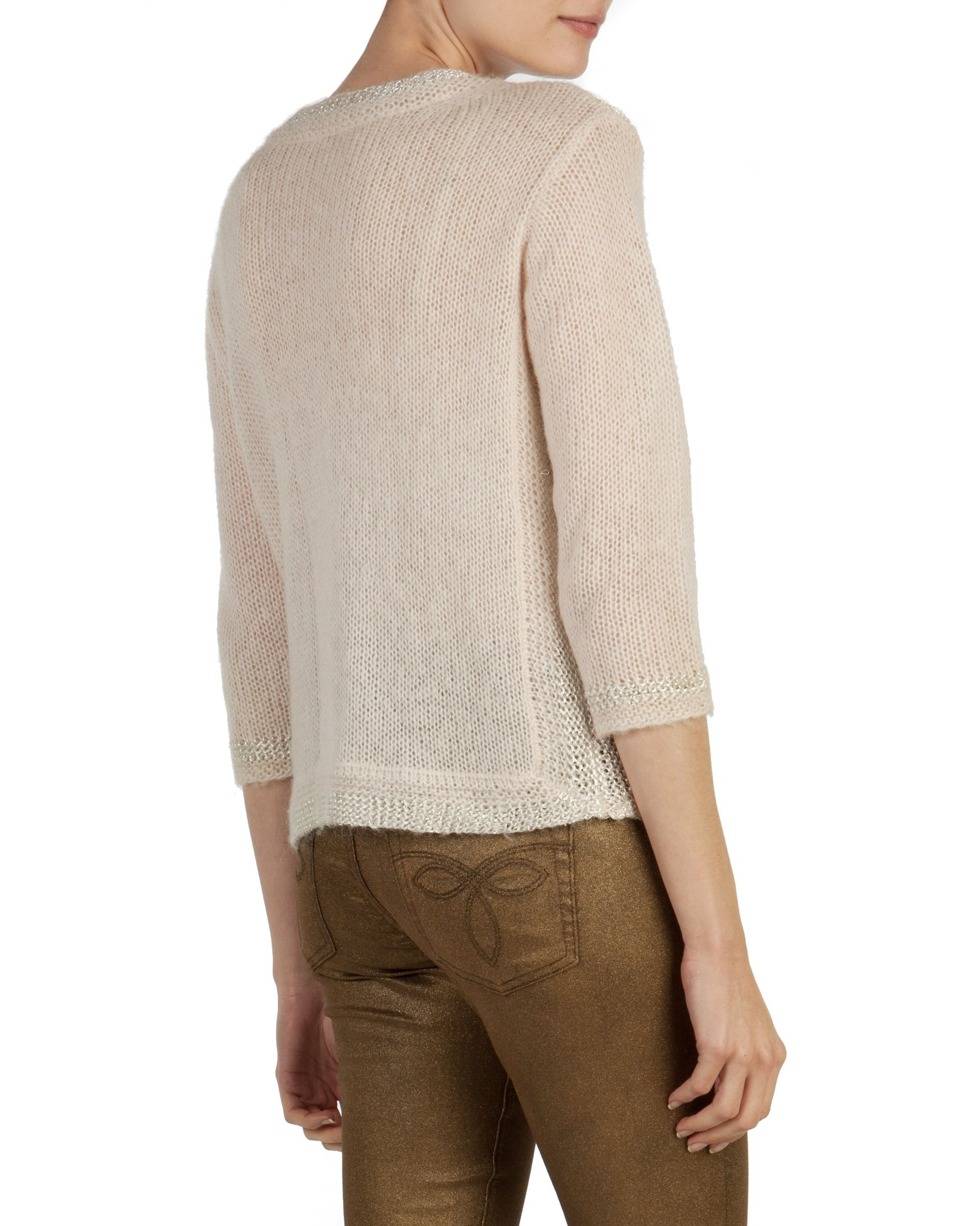 Jevini mohair metallic sweater