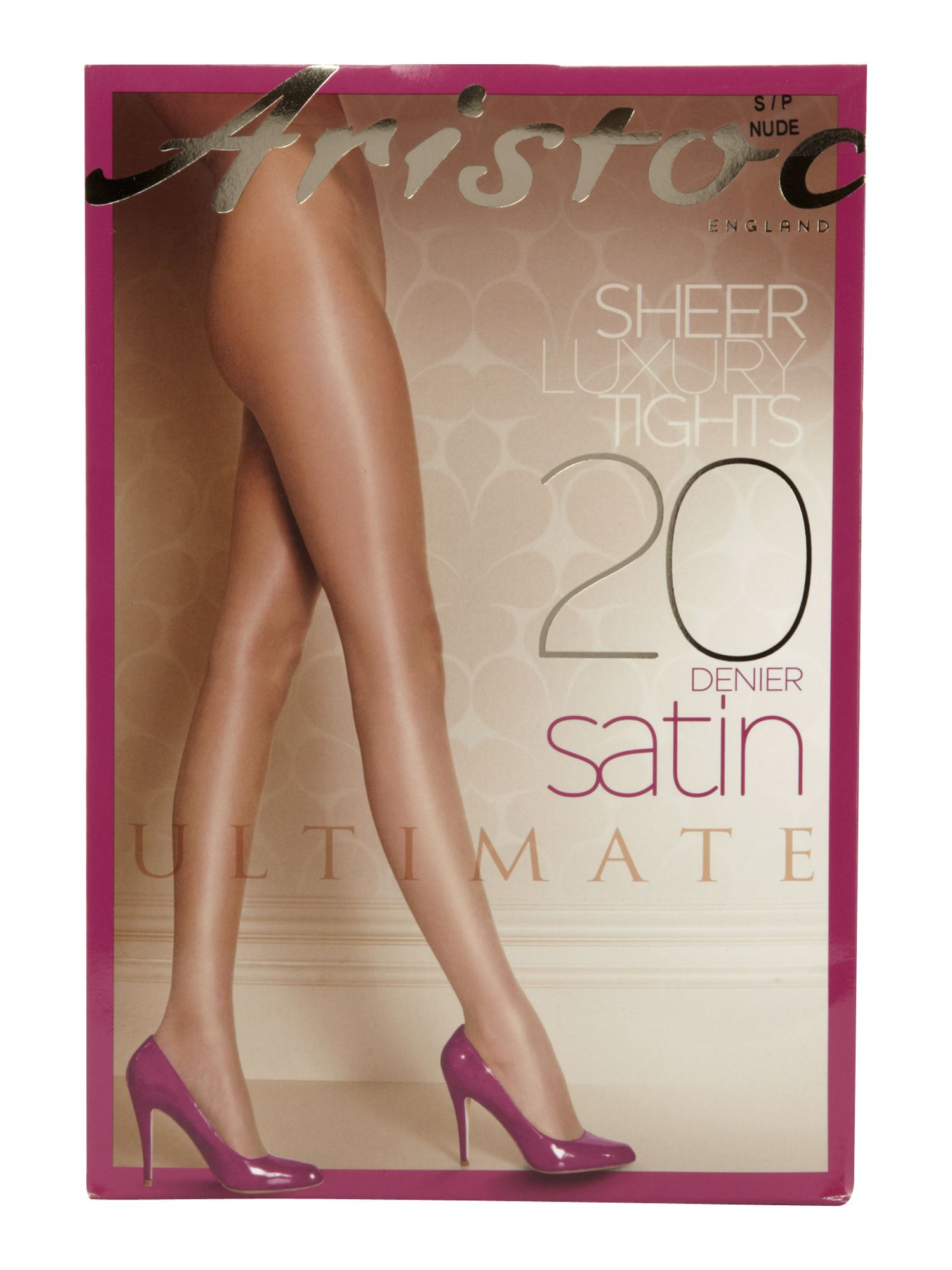 20 den ultimate satin tights