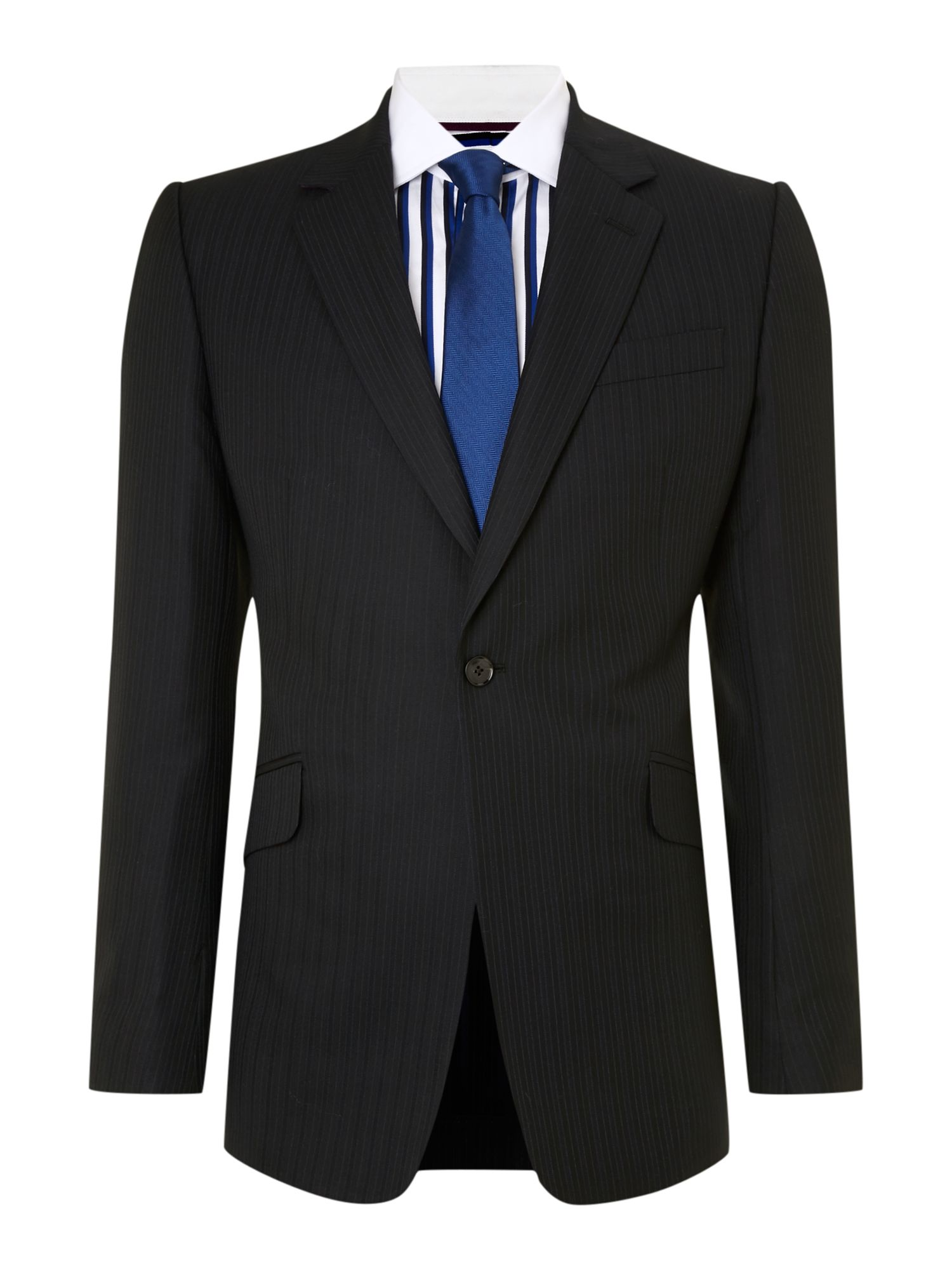 Notch skype stripe suit