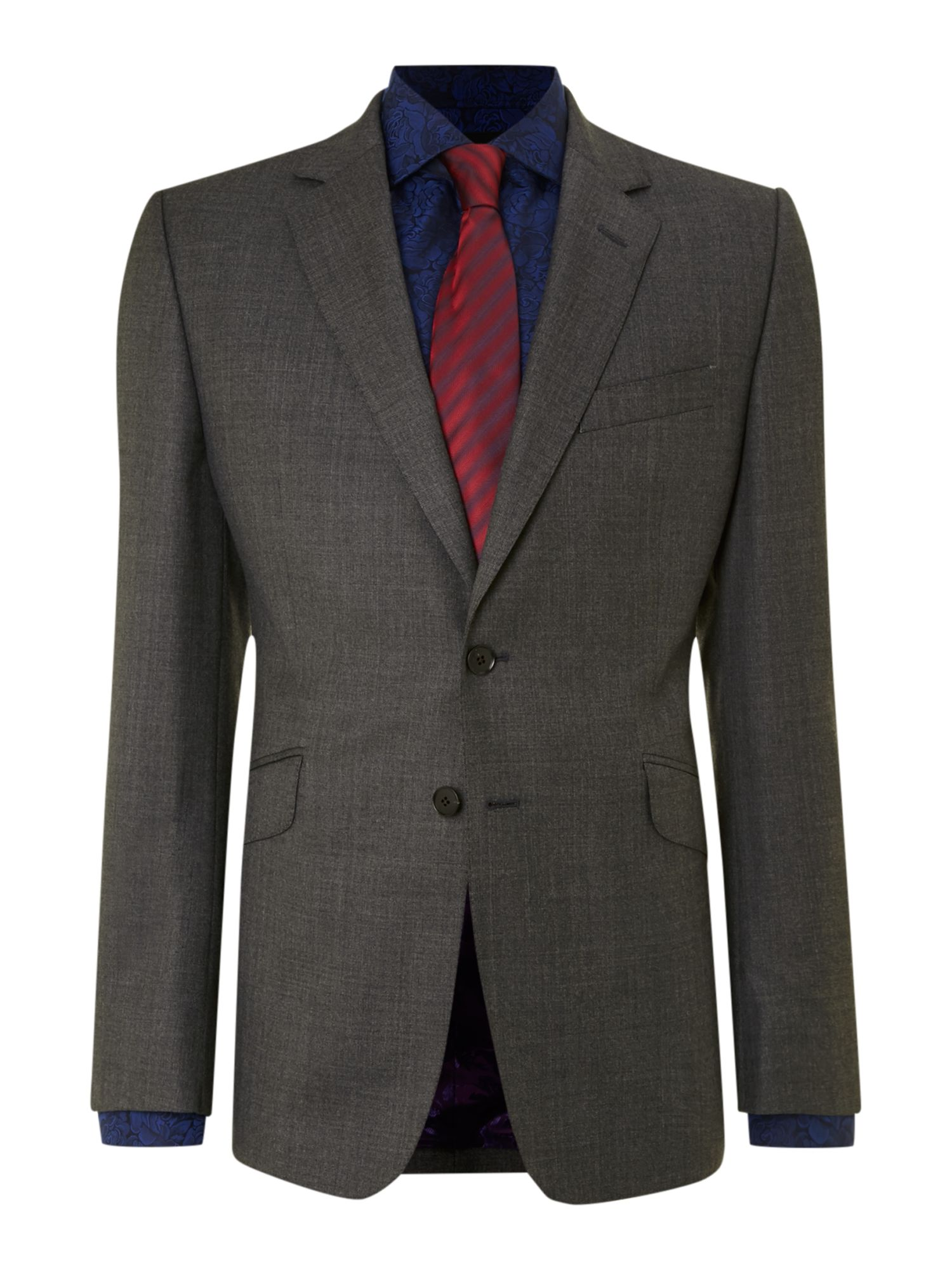 Notch Jaspey wool suit