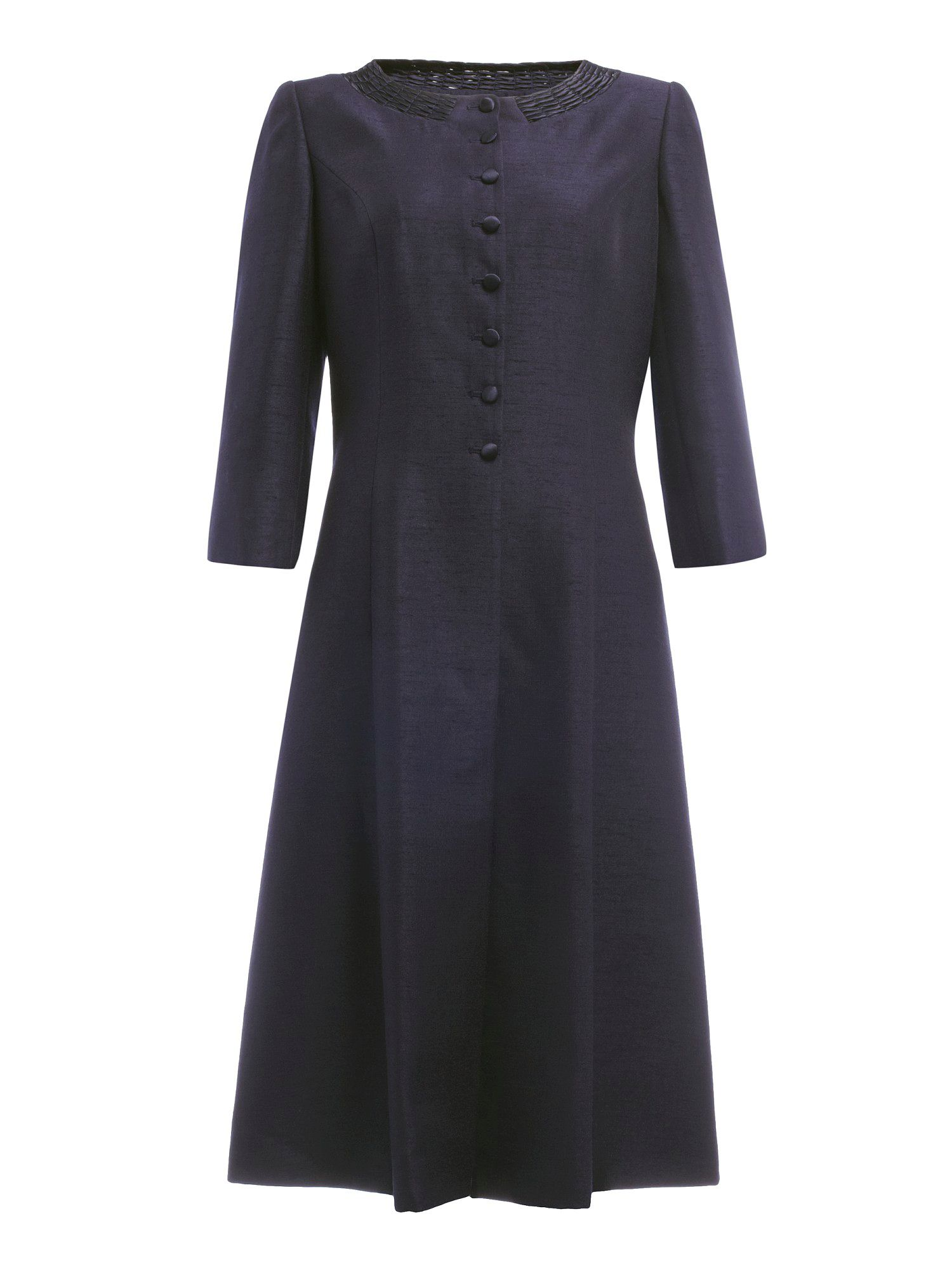 Monique longline dress coat