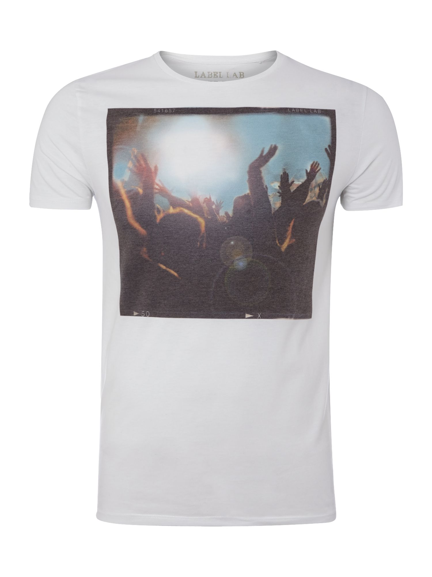 Hands graphic T-shirt