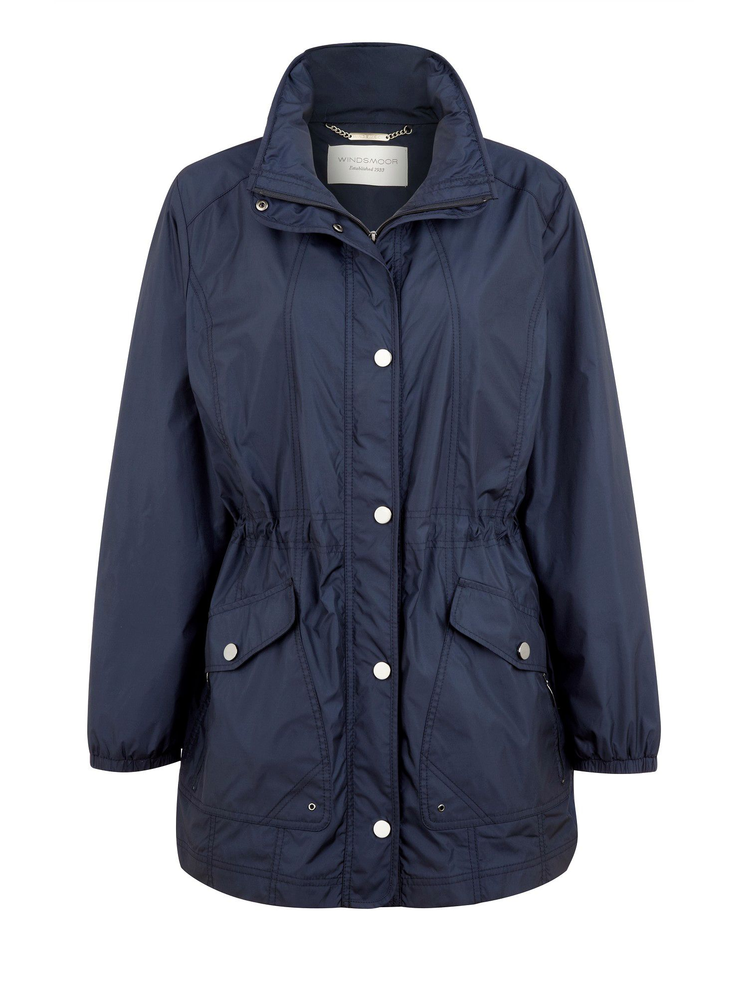 Wrong image - navy raincoat