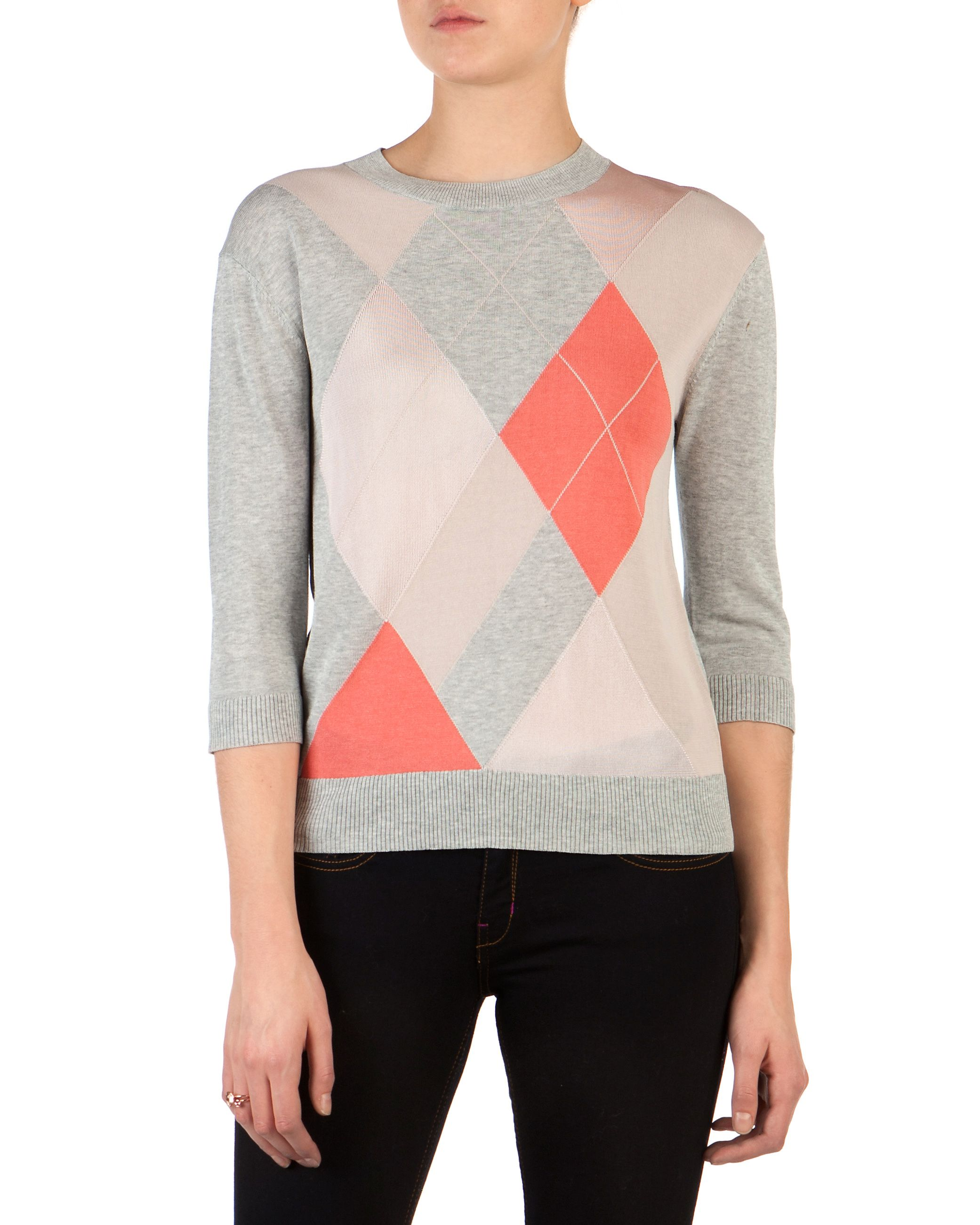 Hathor argyle jumper