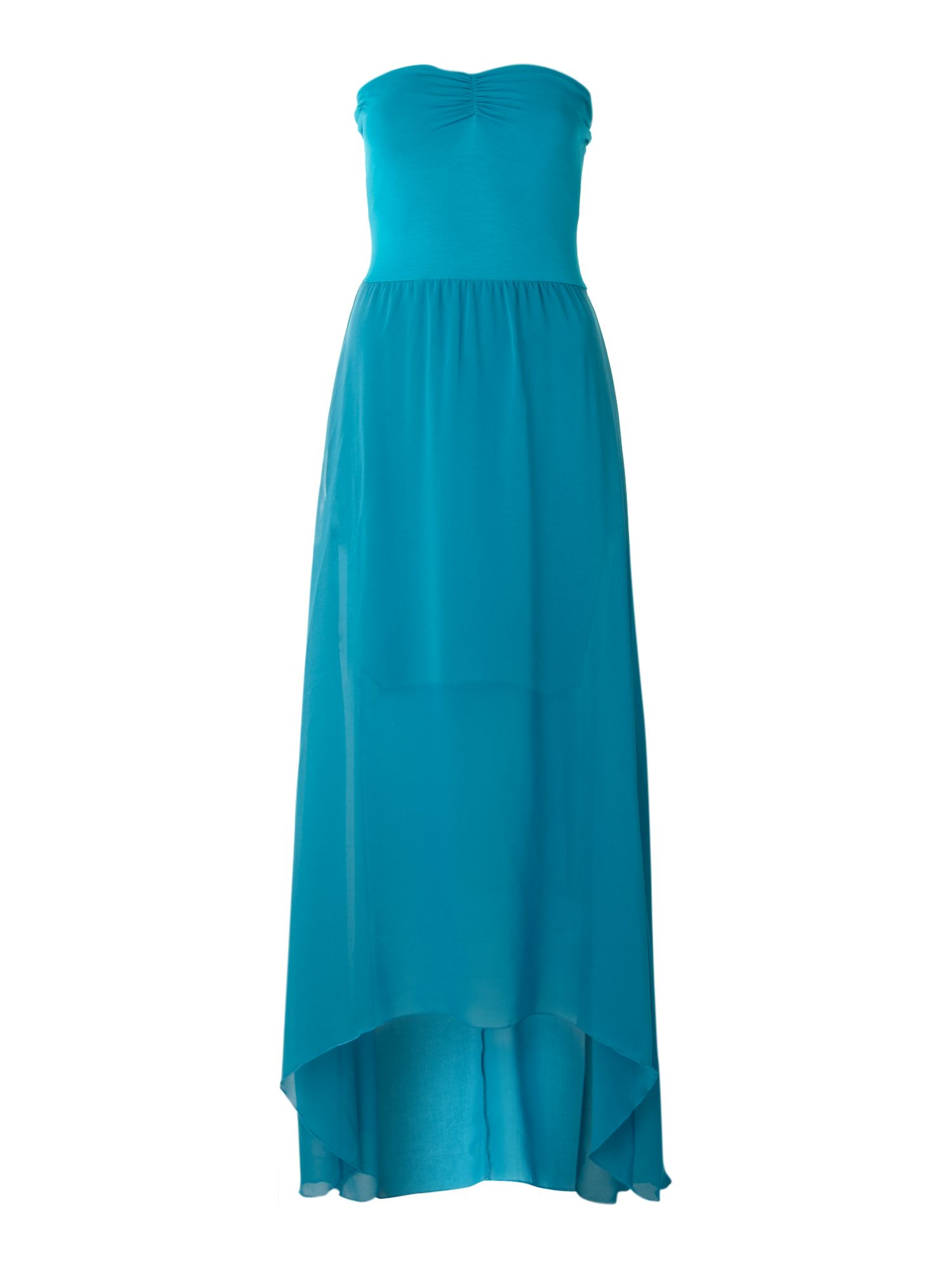 Elipse bandeau maxi dress
