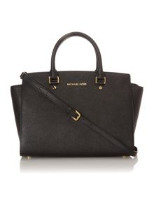 Michael Kors Selma black tote bag