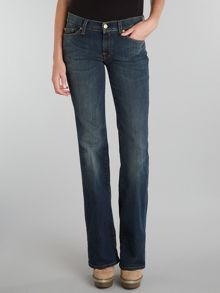 7 For All Mankind Bootcut jeans in Manhattan Dark