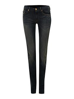 Straight leg jeans in Manhattan Dark