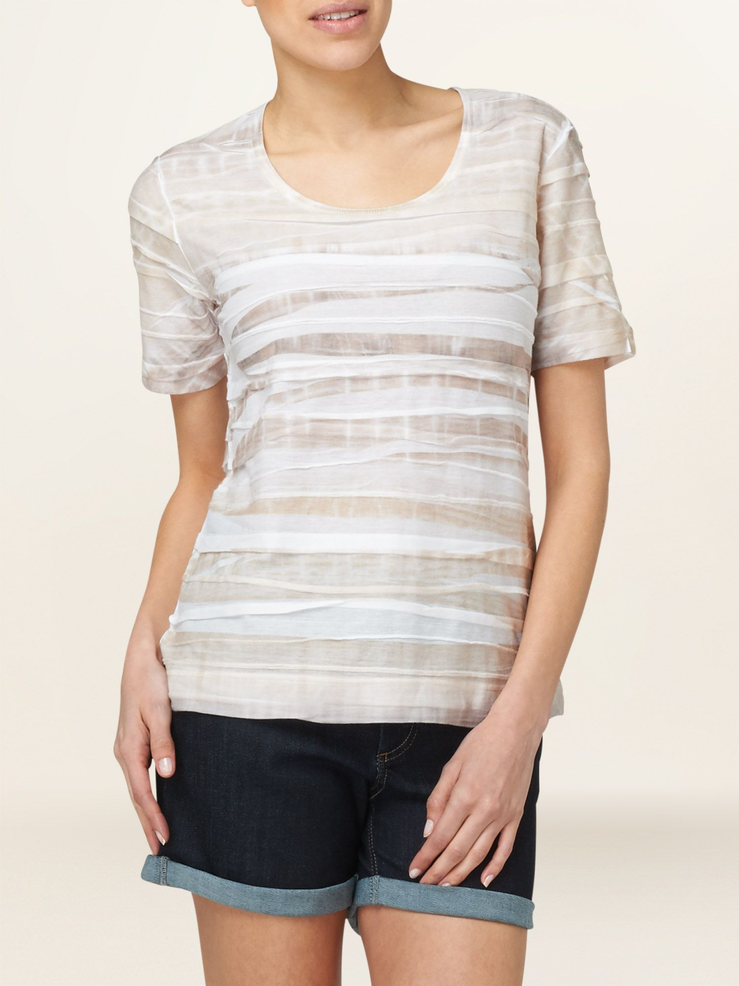 Cassie layered t-shirt