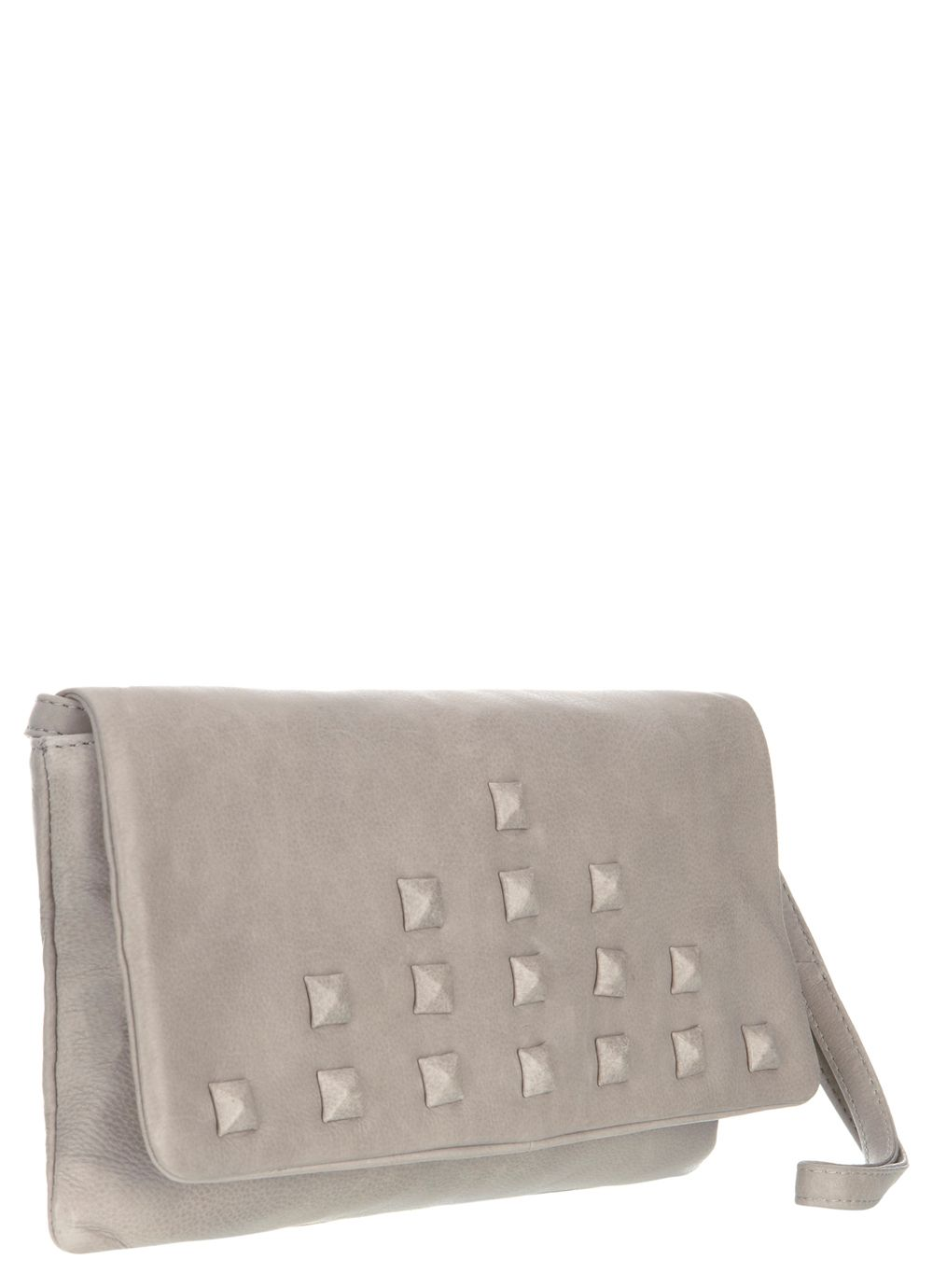 Clay envelope clutch bag