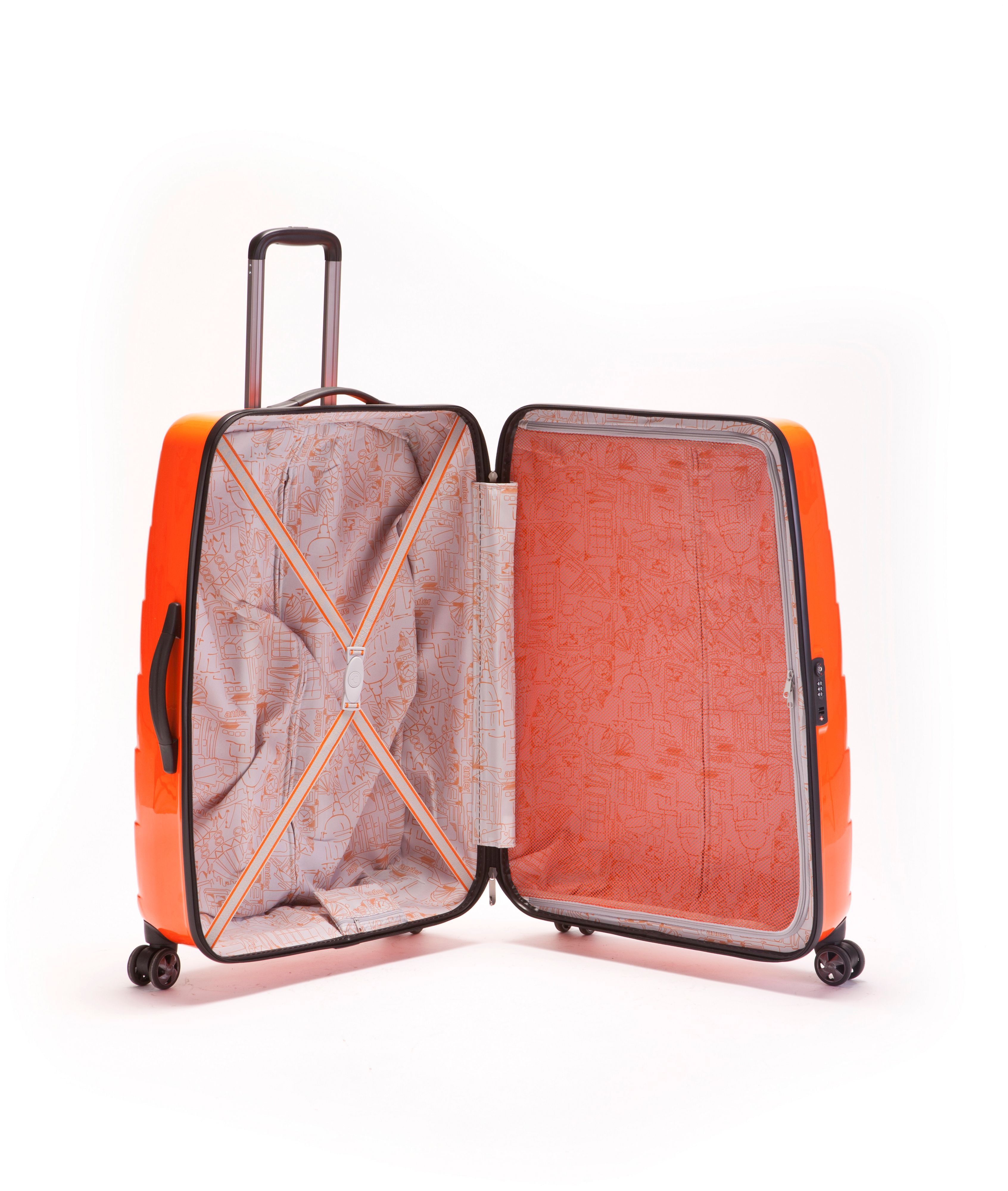 Camden Large Suitcase - Orange