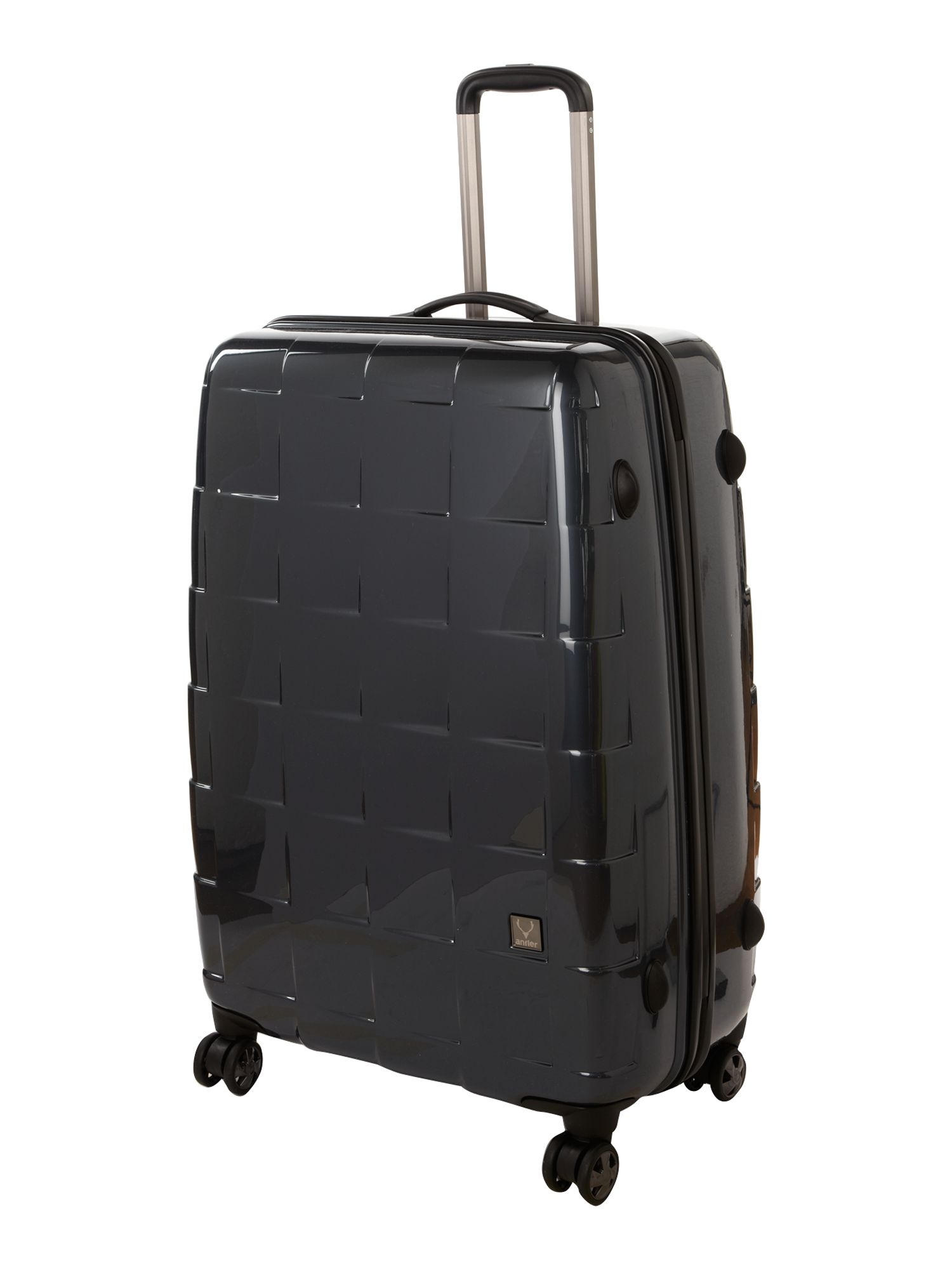 Camden large suitcase - charcoal