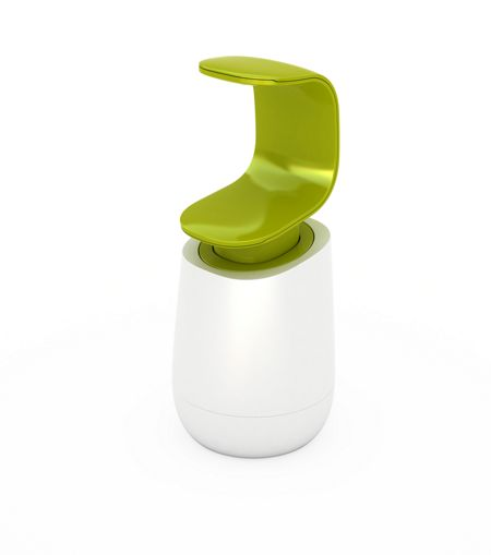 Joseph Joseph Soap Dispenser, White / Green