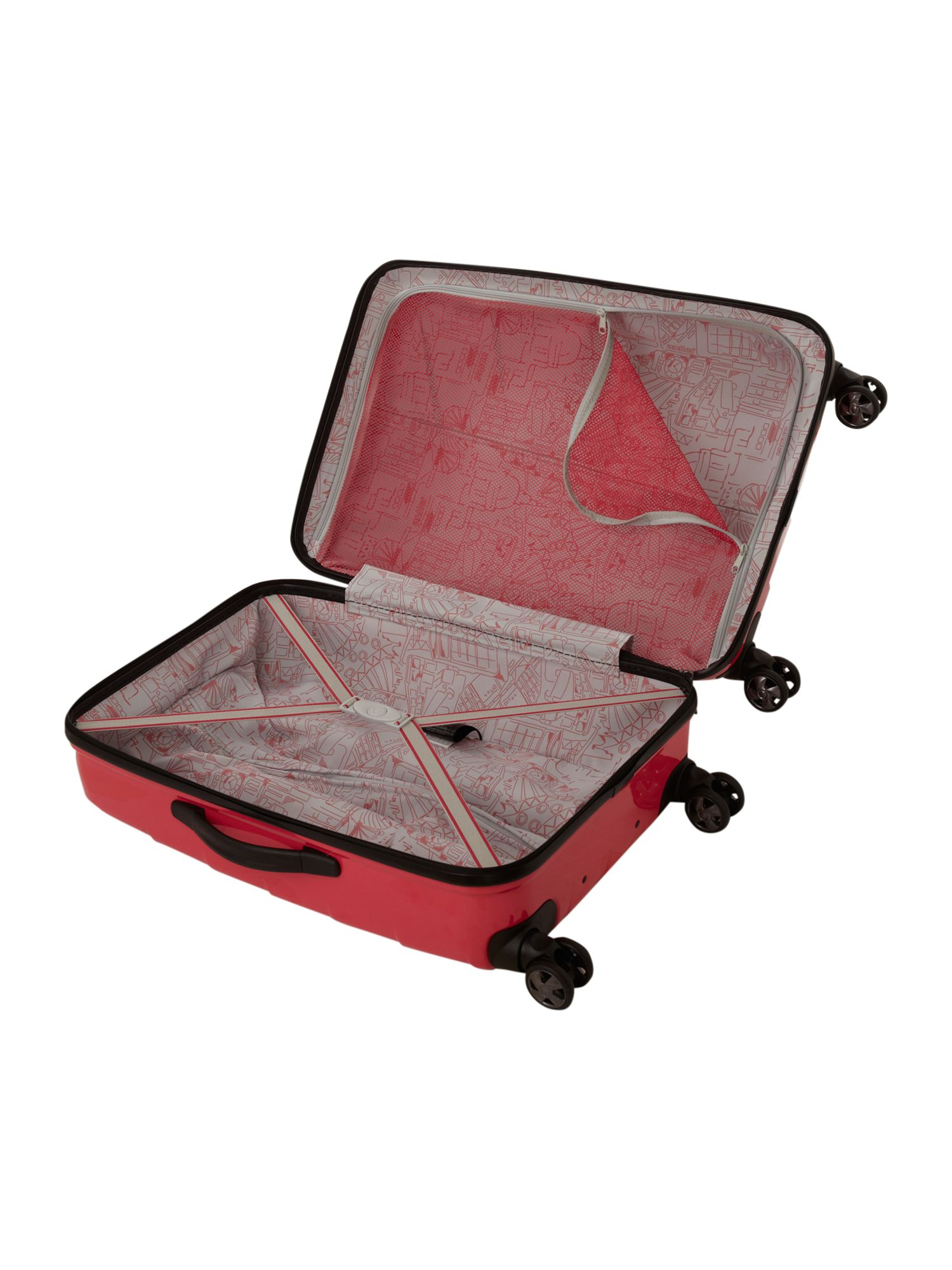 Camden Medium Suitcase - Pink