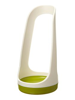 Spoon Base Utensil Rest - White/Green