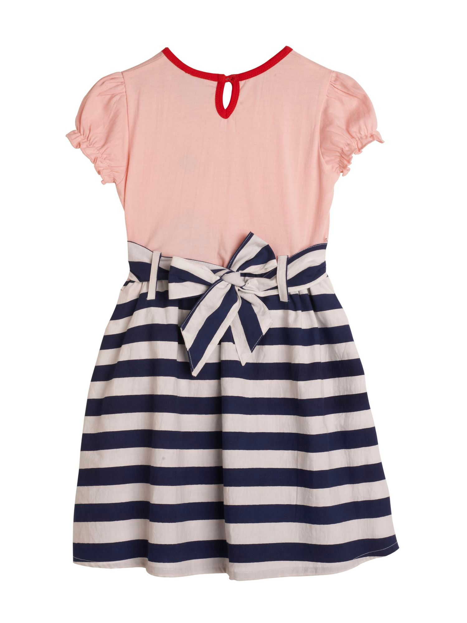 Girl`s Ice Cream Stripe Dress