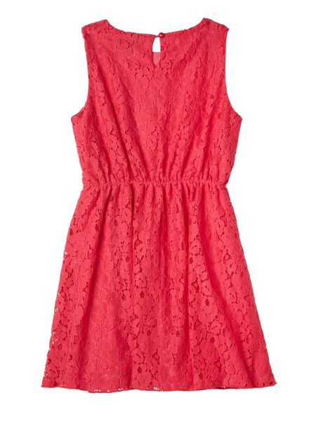 Yumi Girls Girl`s Lace Sun Dress