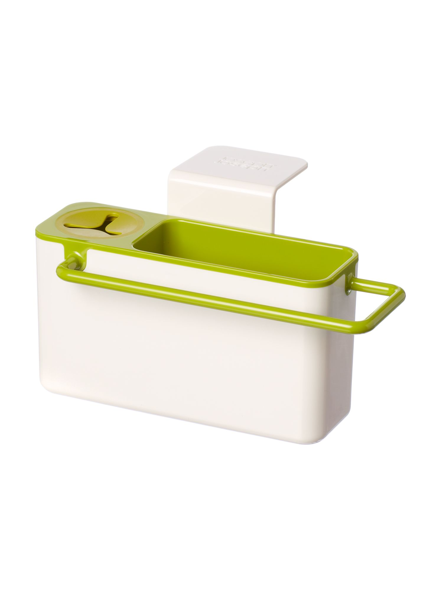 In-sink caddy, white / green