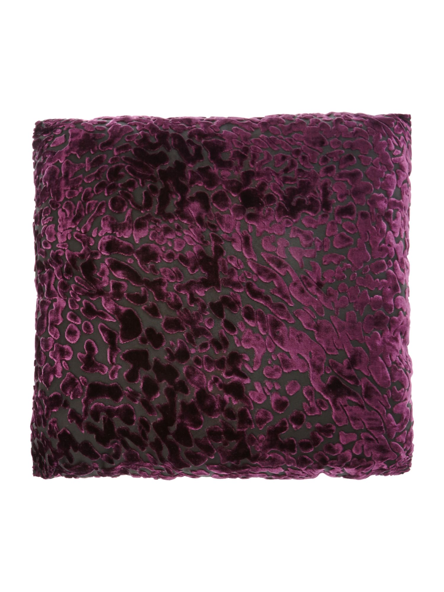 silba cushion in orchid